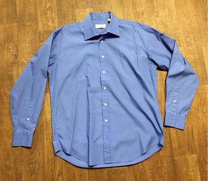 Mens Original Vintage Deep Blue YSL Shirt UK Size XL