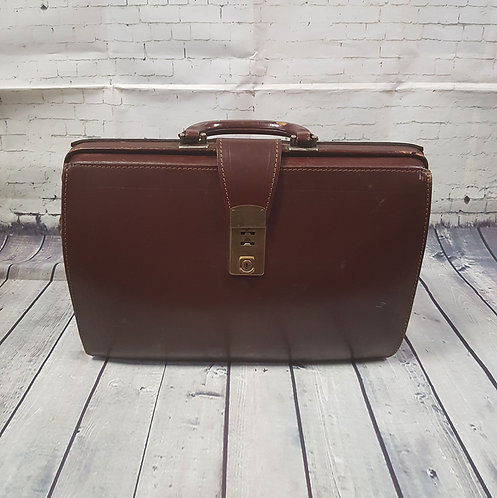 Vintage Doctors Bag | 1960s Briefcase | Vintage Bags | Unique Vintage