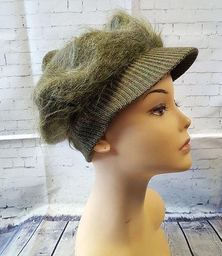 Vintage Hat | Vintage Newsboy Cap | Unique Vintage | 1970s Fashion