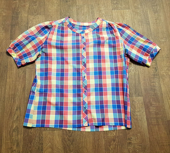 Vintage Shirt | Retro Shirt | Vintage Clothing | 1980s Fashion