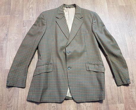Vintage Blazer | Mens Check Blazer | Vintage Clothing | 70s Style