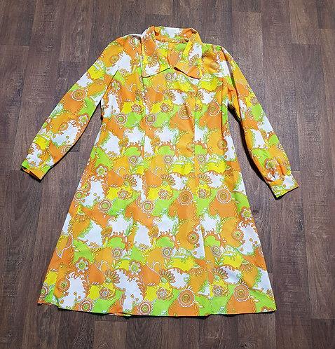 Vintage Dress | Psychedelic Dresses | Vintage Clothing | 1960s Fashion