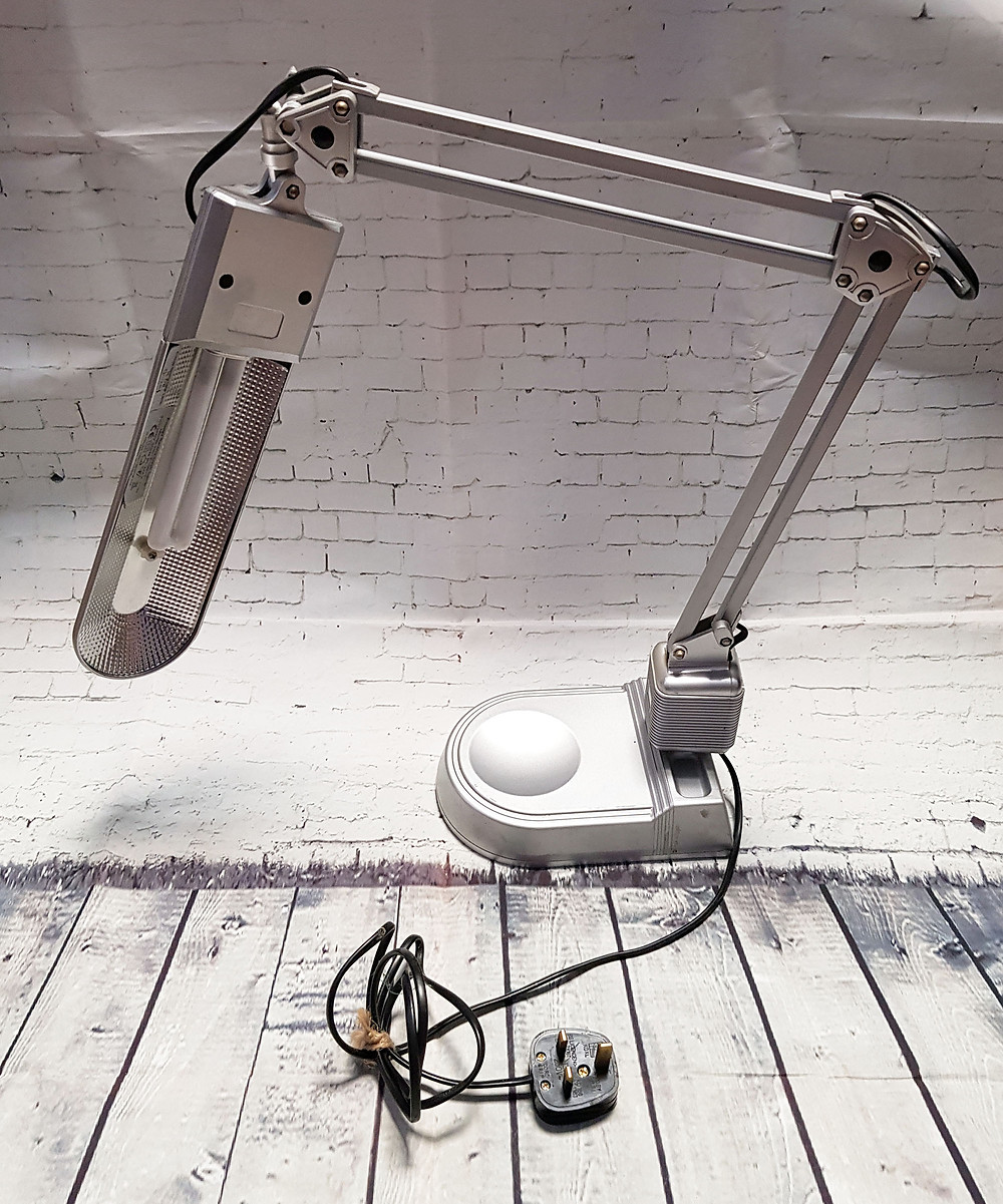Vintage Anglepoise Style Energy Saving Desk Lamp