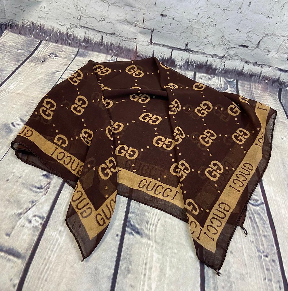 1970s Vintage Gucci Signature Square Scarf £75