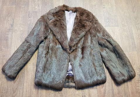 Vintage Coat | 1960s Fur Coat | Vintage Clothing | 60s Fashion