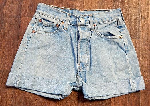 Vintage Shorts   Vintage Levi 501s   Retro Denim Shorts   Preloved UK
