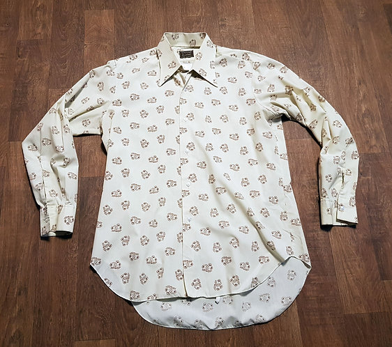 Mens Shirt   Vintage Shirts   Vintage Tootal Shirt   Vintage Clothing