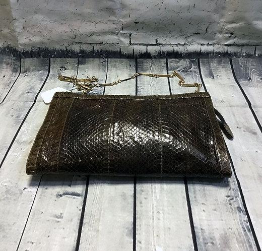 Vintage Snakeskin Bag | Vintage Handbag | 1970s Bags | Preloved UK