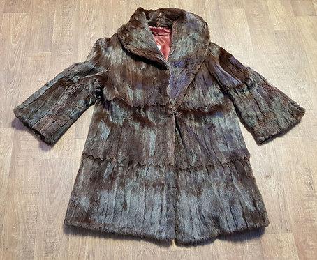 Vintage Coats | 1920s Fur Coat | Winter Coat | Vintage Clothing
