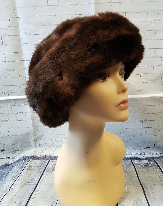 Vintage Hat   1960s Fur Hat   Vintage Accessories   Retro Hat