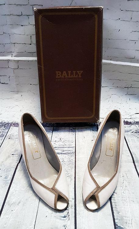 Vintage Bally Heels | Vintage Bally Peep Toes | Vintage Shop | Retro Shoes