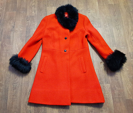 Vintage Coat | Red Vintage Coat | 1960s Coats | Vintage Clothing