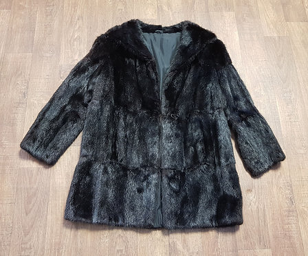Vintage Coat | 1960s Fur Coat | Vintage Clothing | Eco Friendly