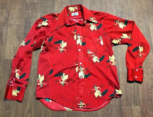 Mens Shirt   Vintage Shirts   Retro Shirt   70s Style