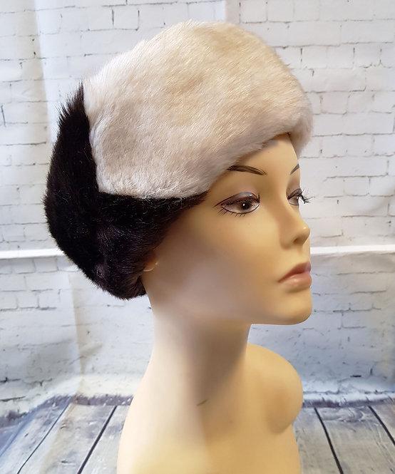Vintage Hat | 1960s Faux Fur Hat | Vintage Accessories | Eco Friendly