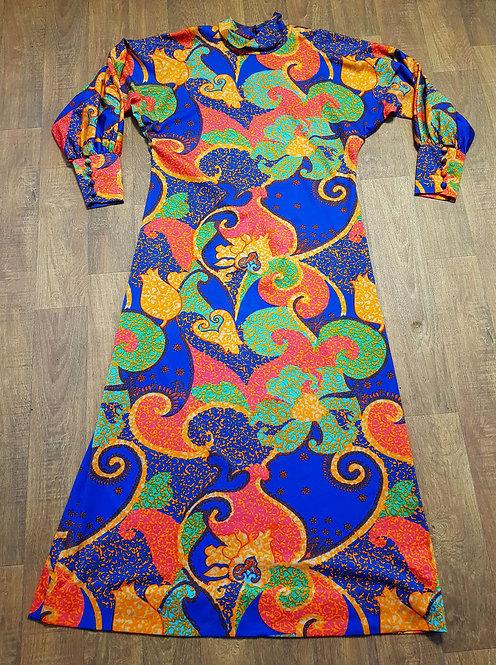 Vintage Dress | 1970s Maxi Dress | Boho | Vintage Clothing