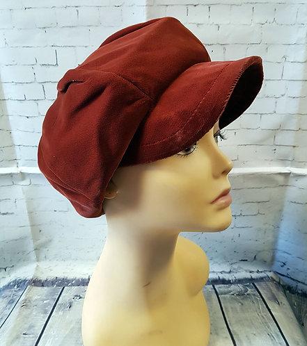 Vintage Hat   Vintage Baker Boy Hat   1960s Hat   Retro Hats