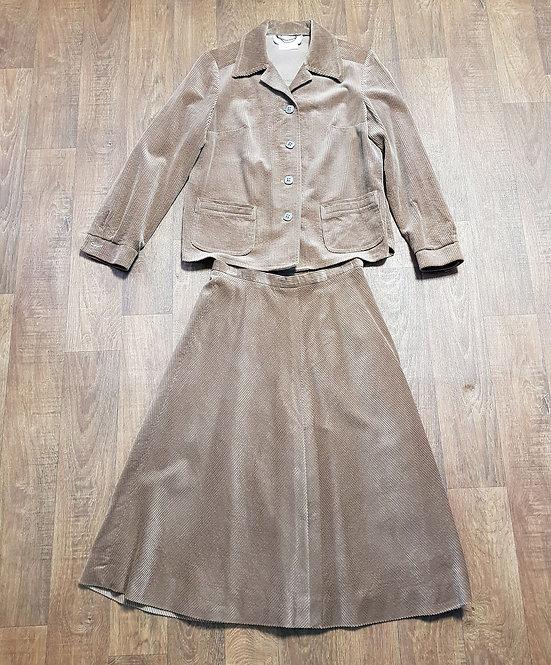 Vintage Skirt Suit | 1970s Skirt Suit | Vintage Clothing | Eco Friendly