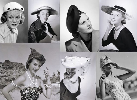 Fashion Spotlight - Vintage Hats