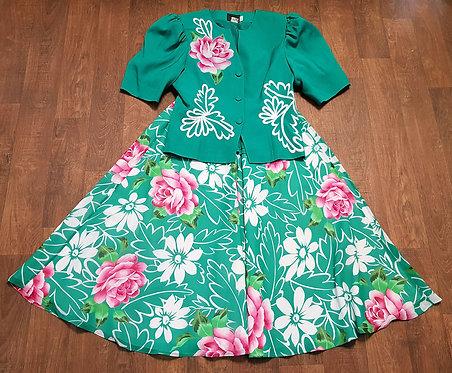 Vintage Skirt Suit | Vintage Clothing | 1980s Fashion | Retro Skirt Suit