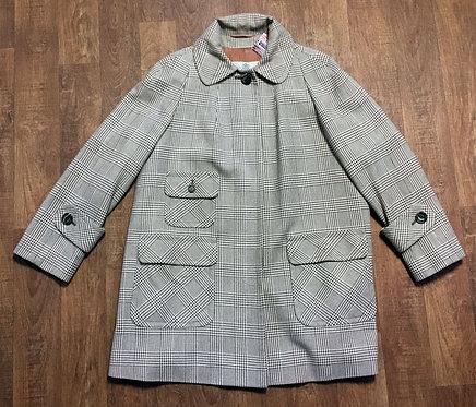 Vintage Aquascutum Coat | Designer Vintage Coat | Vintage Clothing | 60s Fashion