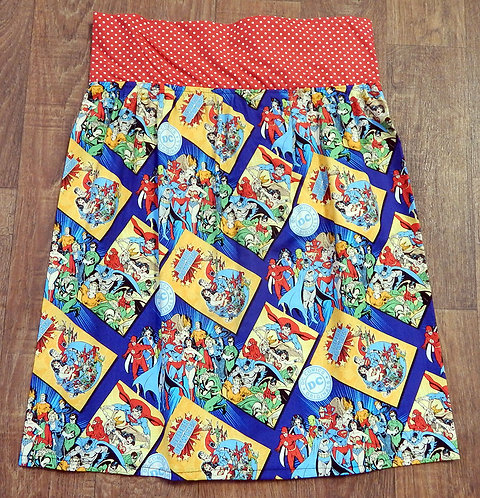 Vintage Style Skirt | Retro Skirt | DC Comics Skirt | Vintage Clothing