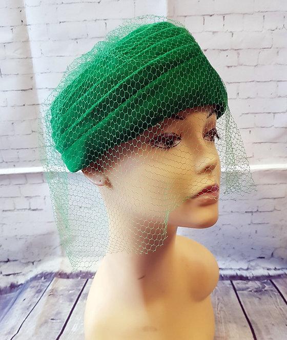 Vintage Hat   1940s Hat   Vintage Accessories   1940s Style