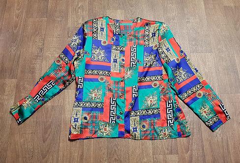 Vintage Blouse   Vintage Shirt   Vintage Clothing   Retro Blouse