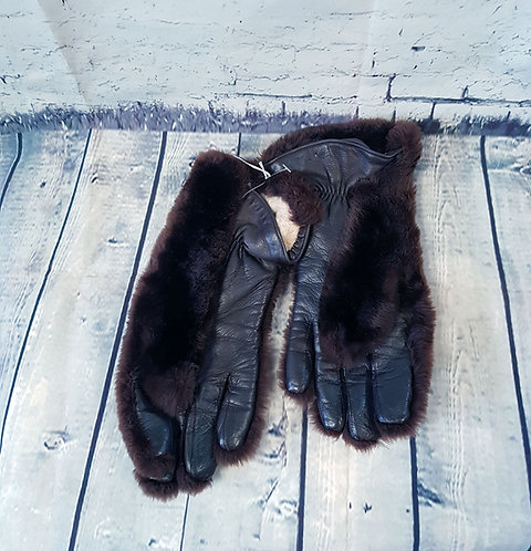 Vintage Fur Gloves | 1950s Gloves | 1950s Accessories | Eco Friendly
