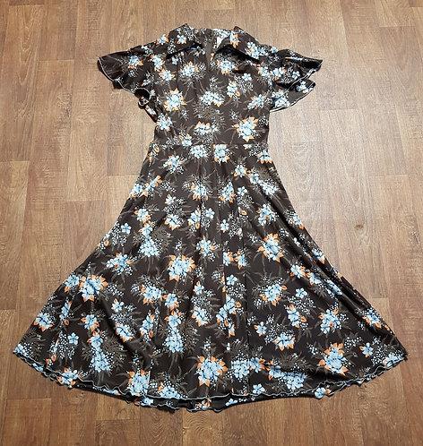 Vintage Dresses | 1970s Dress | Floral Dresses | Vintage Clothing