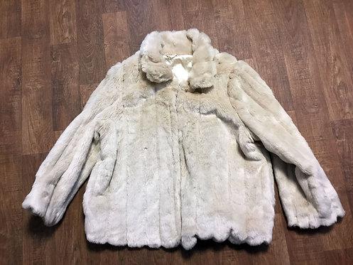 Vintage Coat | 1980s Faux Fur Coat | Vintage Clothing | 80s Style