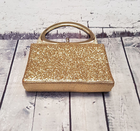 1960s Evening Bag | Gold Evening Bag | Vintage Party Bag | 1960s Accessories