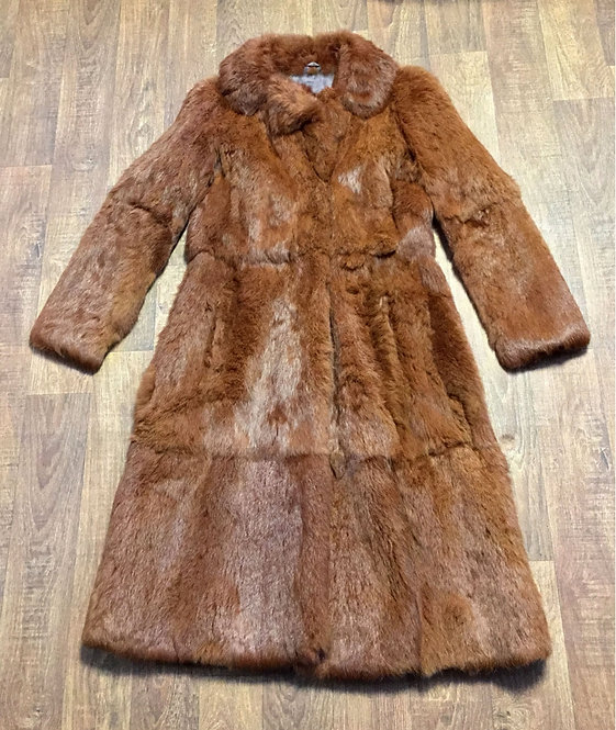 Vintage Coat | Vintage Fur Coat | Coney Fur Coat | Vintage Clothing