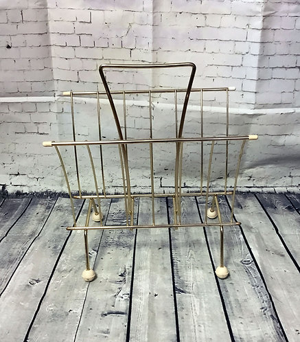 Vintage Magazine Rack | 50s Homeware | Retro Home | Collectables