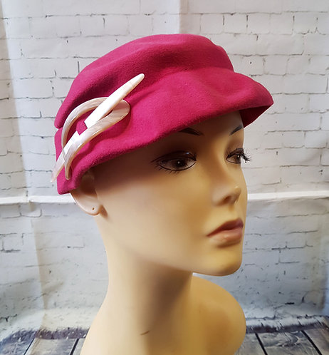 Vintage Evening Hat | Unique Hats | Vintage Fashion | 1930s Style
