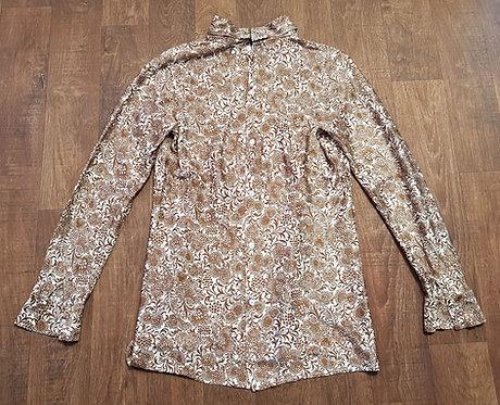 Vintage Shirt   1970s Blouse   70s Fashion   Vintage Clothing