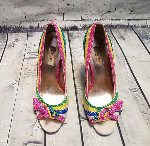 Vintage Shoes | Retro Shoes | Vintage Dune Heels | Preloved UK