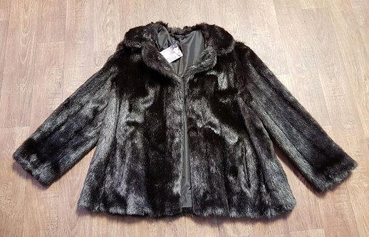 Vintage Coat   1960s Faux Fur Coat   60s Style   Vintage Clothing
