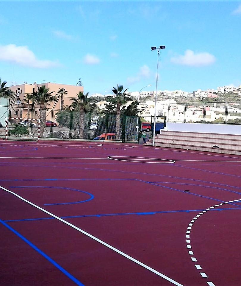 Canchas Polideportivas de Arona, Cabo Blanco