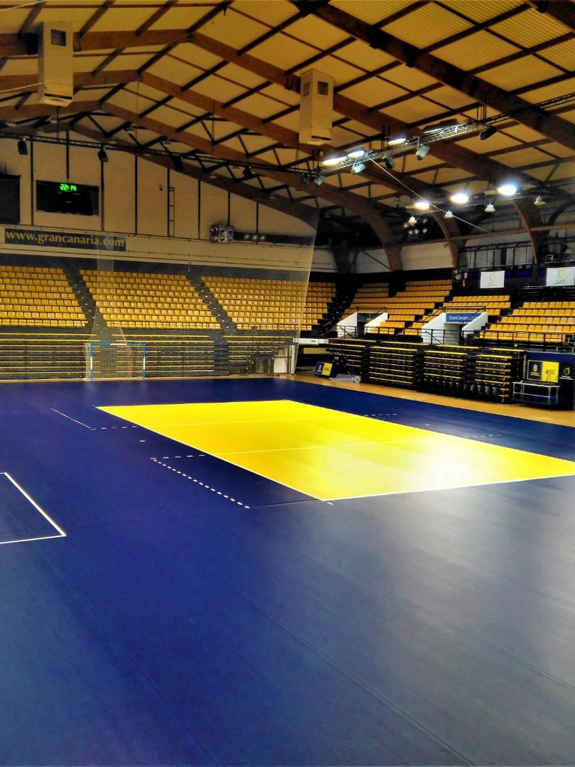 Pavimento Voleibol Centro Insular de Deportes