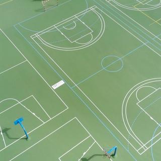 Reforma canchas de polideportivas en Colegio Claret de Las Palmas