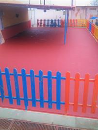 Zona Infantil en Colegio Educación espacial Petra Lorenzo