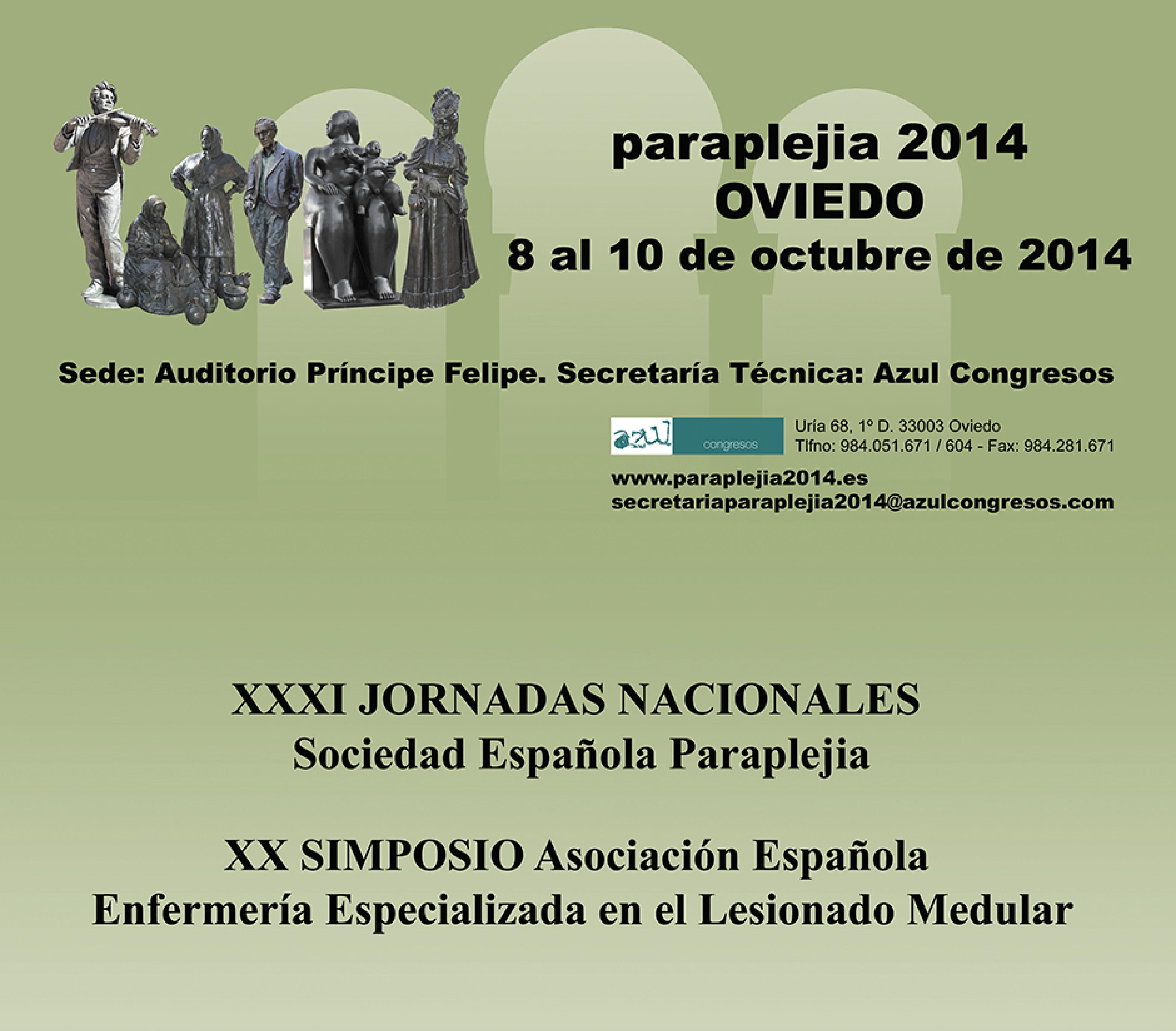 Paraplejia 2014