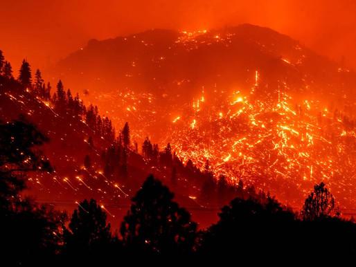 Climate Change, Hurricane Ida, and California Wildfires