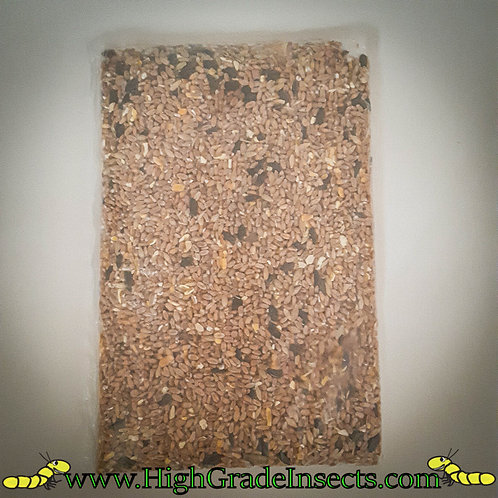 600g Seed Mix Or 1.2KG When Purchased With a Kit  Insect Animal Feed Protein
