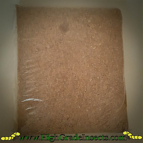 500g Wheat Bran Or 1KG When Purchased With a Kit  Insect Animal Feed Food