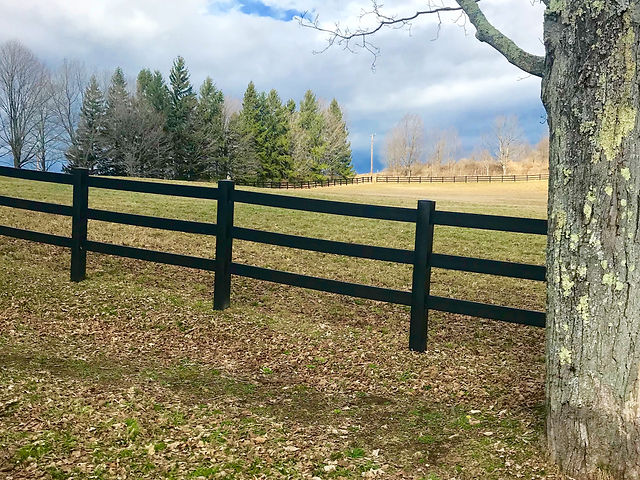 Recycled Fence