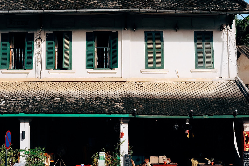 Salah satu sudut kota Luang Prabang