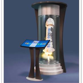 Blue Origin Hologram Kiosk
