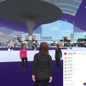 Custom virtual conference
